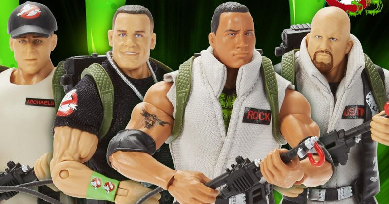 WWE Superstars Are Now Ghostbusters in the Ultimate WTF Crossover Toys