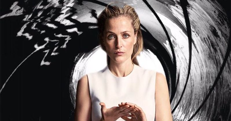 Gillian Anderson Thinks She Could Be the Next James Bond