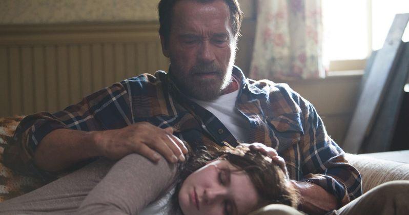First Maggie Photos: Schwarzenegger Comforts His Zombie Daughter