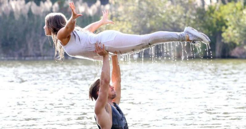 Bindi Irwin & Derek Hough Recreate Dirty Dancing Scene for DWTS