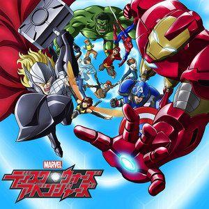 Disney Announces Marvel Disk Wars: The Avengers Anime Series for 2014