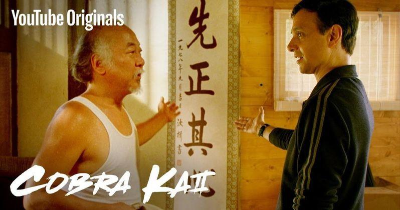 Miyagi-Do Karate Makes Its Triumphant Return in First Cobra Kai Season 2 Clip