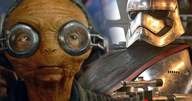 Maz Kanata & Captain Phasma Fates Still Undecided in Star Wars 9
