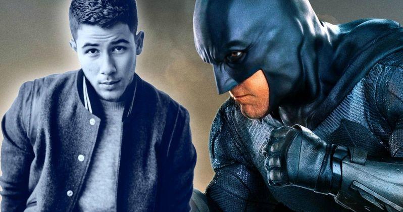Nick Jonas Offers to Be the New Batman After Ben Affleck Bails