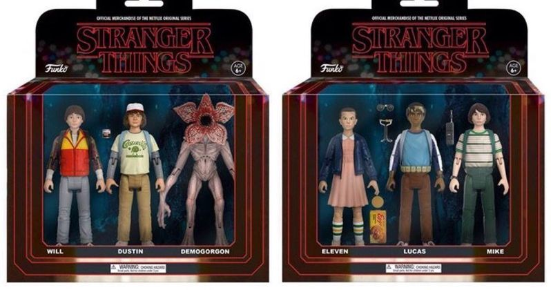 Stranger Things Funko Action Figures & Comic-Con Exclusives Revealed