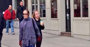 Jerry Seinfeld and Jason Alexander Spotted Outside Tom's Restaurant