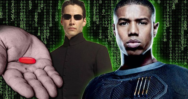 Matrix Reboot Wants Michael B. Jordan, Writers Room Planned