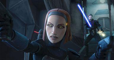 Katee Sackhoff's Clone Wars Character Is Back on Star Wars Rebels