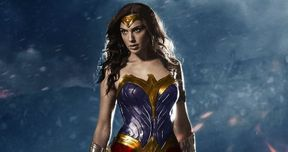 Wonder Woman Set Photos Reveal Full Iconic Blue/Red Costume