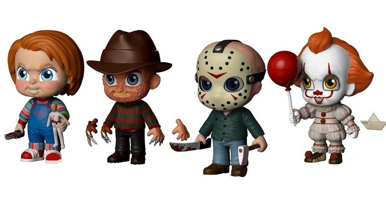 Funko Announces 5 Star Horror Figures for Freddy, Jason, Chucky & Pennywise