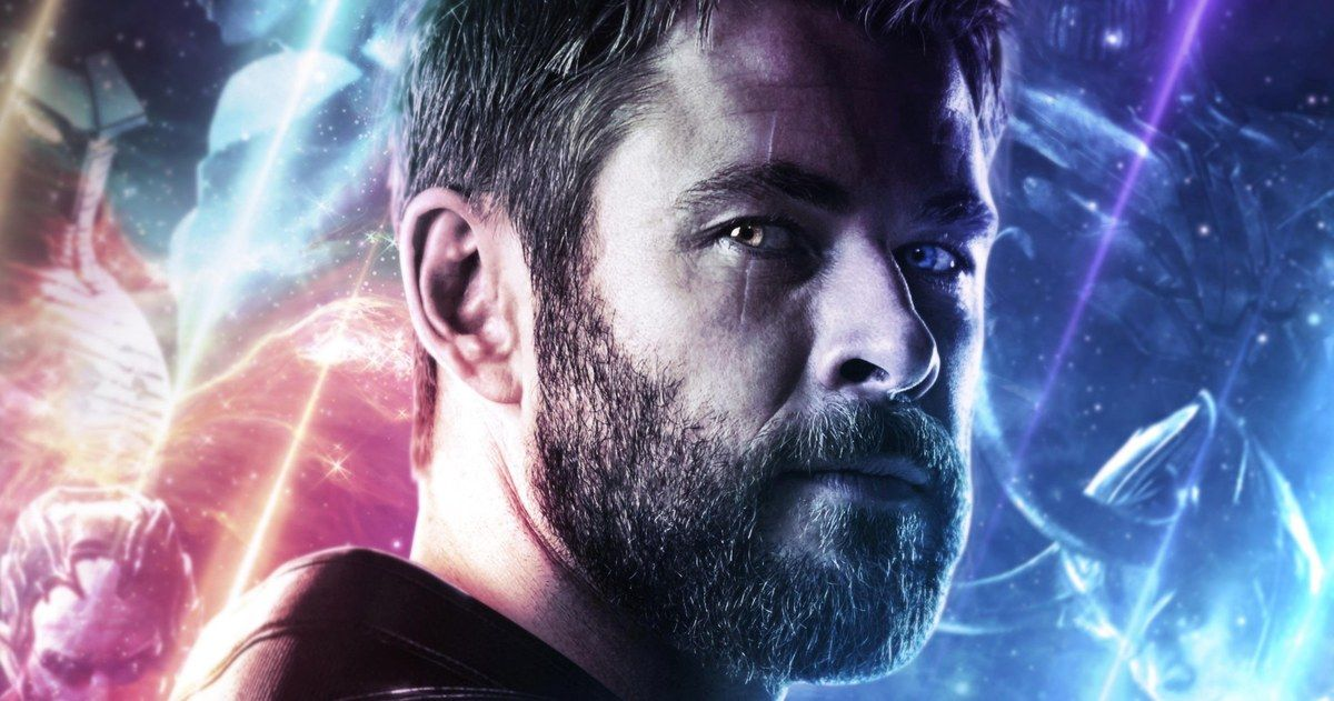 Thor Is Caught Asleep on the Job in Avengers: Endgame Behind-The-Scenes Photo
