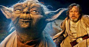 Watch Yoda Almost Bring Mark Hamill to Tears on Last Jedi Set