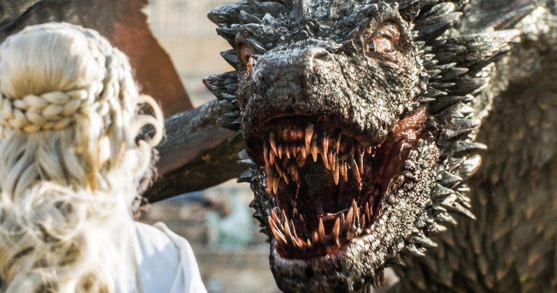 Game of Thrones Season 7 Set Photos Tease an Epic Dragon Battle