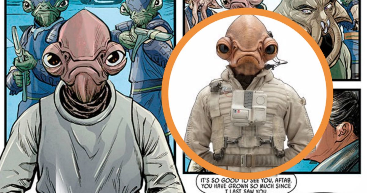 'Rise of Skywalker' Comic Introduces Admiral Ackbar's Son Aftab