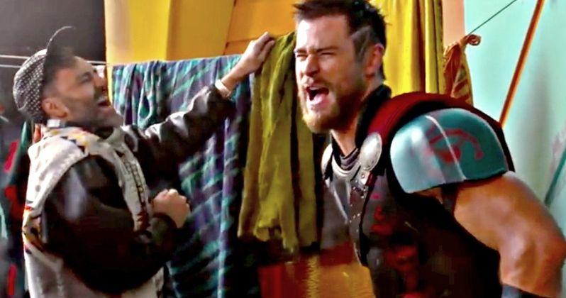Thor: Ragnarok Bloopers and Gag Reel Brings Big Marvel Laughs