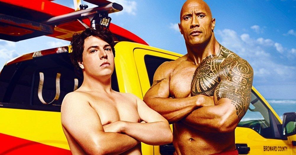 47fe77f00e7 Baywatch Movie Poster Wants You to Rock Your Dad Bod