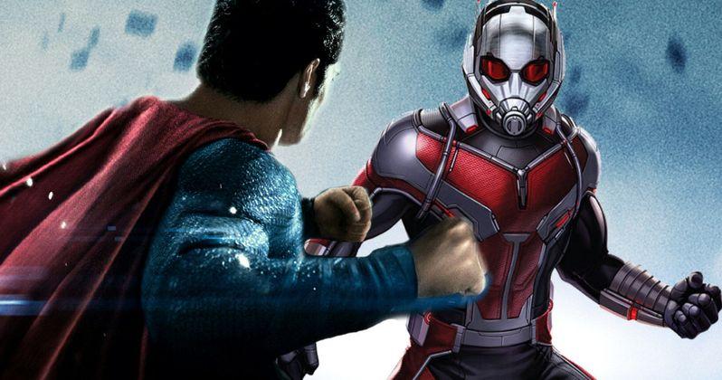 Ant-Man Vs. Superman: Who Wins?