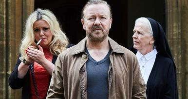 First Look at Ricky Gervais in New Netflix Comedy After Life
