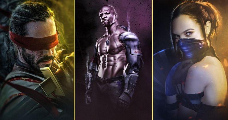 BossLogic Imagines Mortal Kombat with Keanu Reeves, Gal Gadot & Terry Crews
