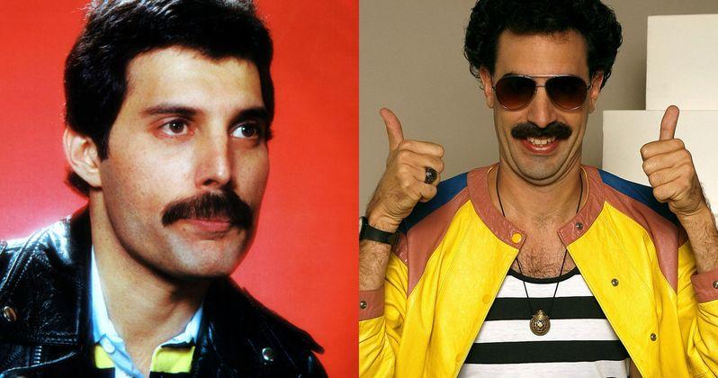 Freddie Mercury Biopic Back on with Sacha Baron Cohen