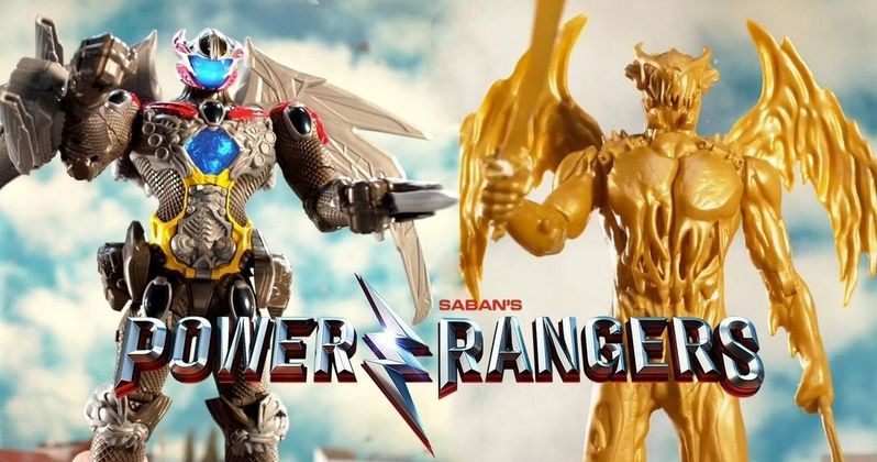 Goldar Revealed in Power Rangers Movie Toy Video