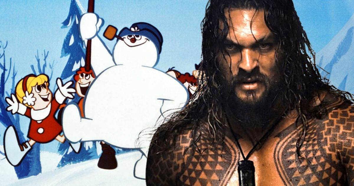 Jason Momoa Is 'Frosty the Snowman' in New Live-Action Christmas Movie