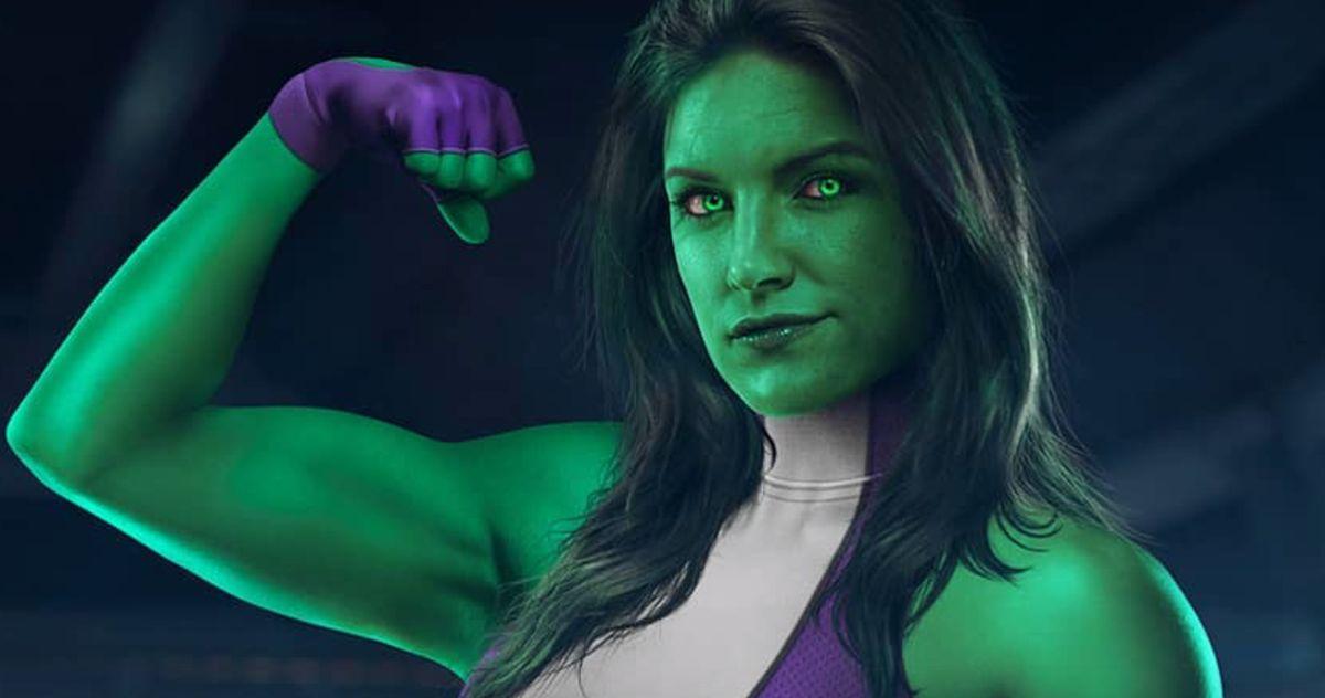 The Mandalorian Star Gina Carano Is She-Hulk in Disney+ Series Fan Art