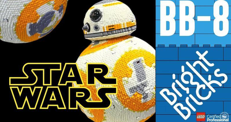 Nerd Alert: Life-Size Lego BB-8 & DIY Star Trek Phaser