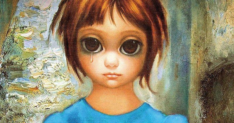 tim burton s big eyes poster featuring amy adams