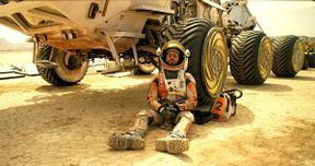 Nine The Martian Photos Feature Matt Damon & Kristen Wiig
