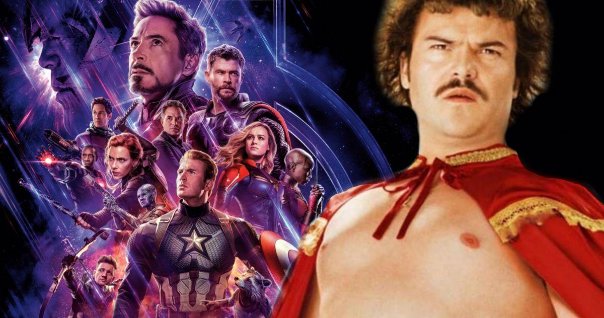 Jack Black Thinks the Avengers Should Recruit Nacho Libre