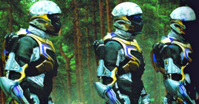 Avengers 2 Photo Shows Hydra Soldiers in Chitauri Armor