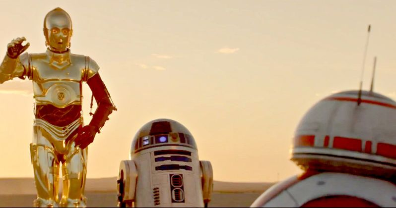 C3PO & R2D2 Meet BB-8 in Star Wars 7 Priority Commercial
