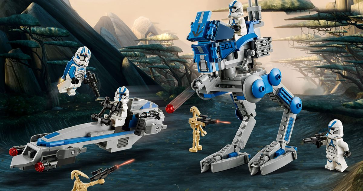 Surprise 501st Legion Clone Trooper Star Wars Lego Set Unveiled