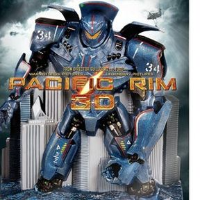Pacific Rim Blu-ray 3D, Blu-ray and DVD Arrive October 15th