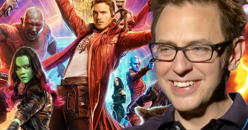 Disney Rehires James Gunn to Write & Direct Guardians of the Galaxy 3