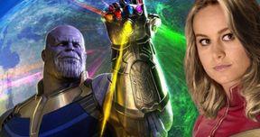 Captain Marvel's Canceled Infinity War Appearance Explained