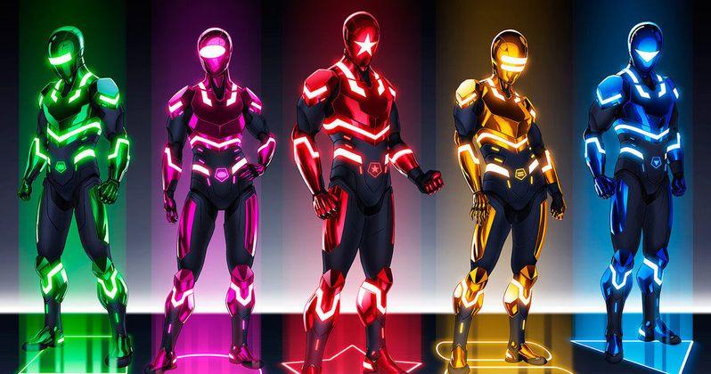 Power Rangers Reboot Starts Production January 2016