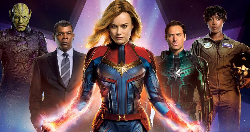 New Captain Marvel TV Spot Has Carol Danvers Ready to Save the World