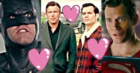 Batman & Superman Share a Valentine's Day Bromance in Justice League Promo