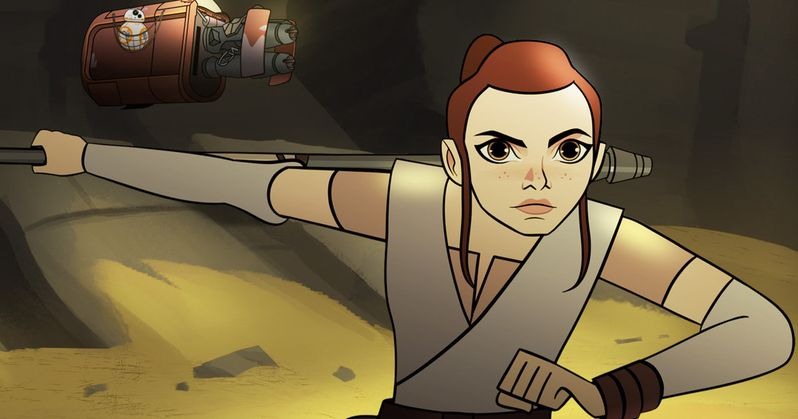 Star Wars: Forces of Destiny Animated Shorts and Toys Revealed