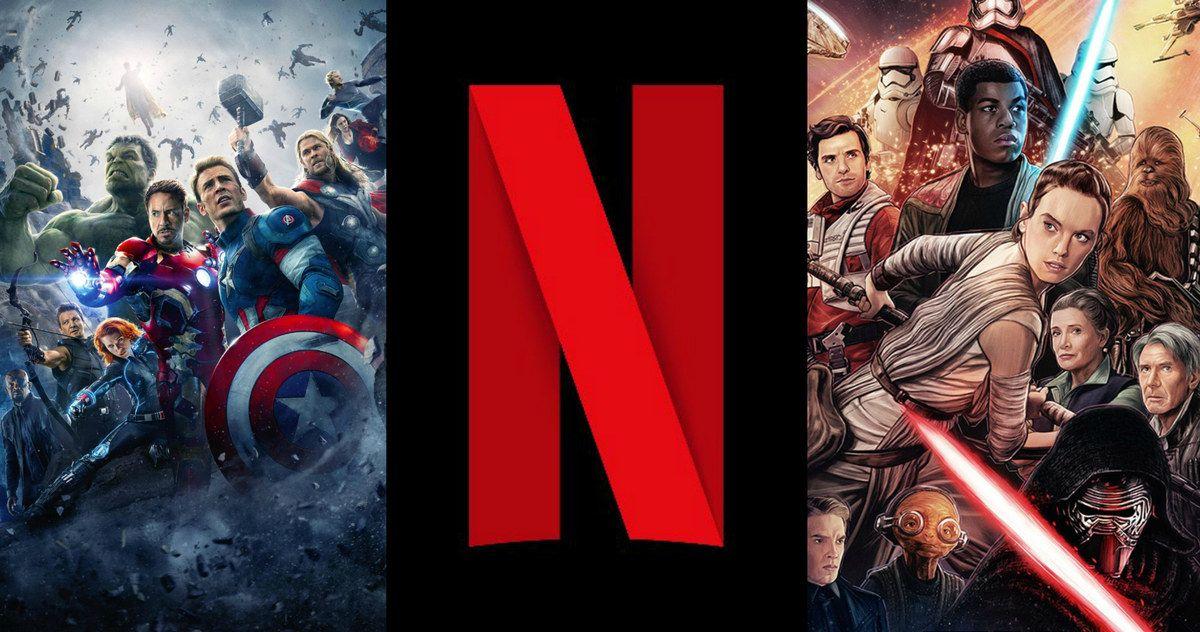 Netflix in Talks with Disney to Keep Star Wars & Marvel ...