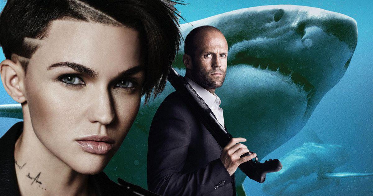 c08d3ea05 Ruby Rose Joins Jason Statham in Giant Shark Thriller Meg