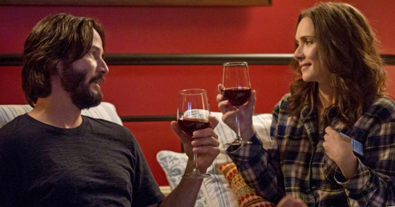 Destination Wedding Trailer Forces Keanu Reeves & Winona Ryder Into Love