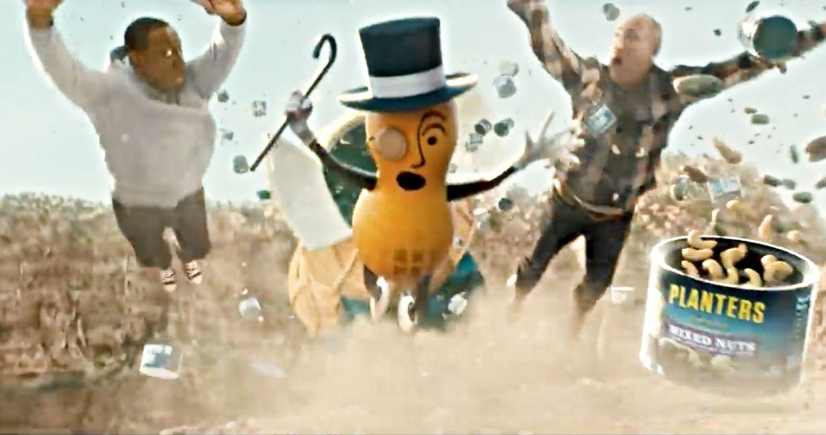 Mr. Peanut Dies Saving Wesley Snipes in Planters Super Bowl Commercial