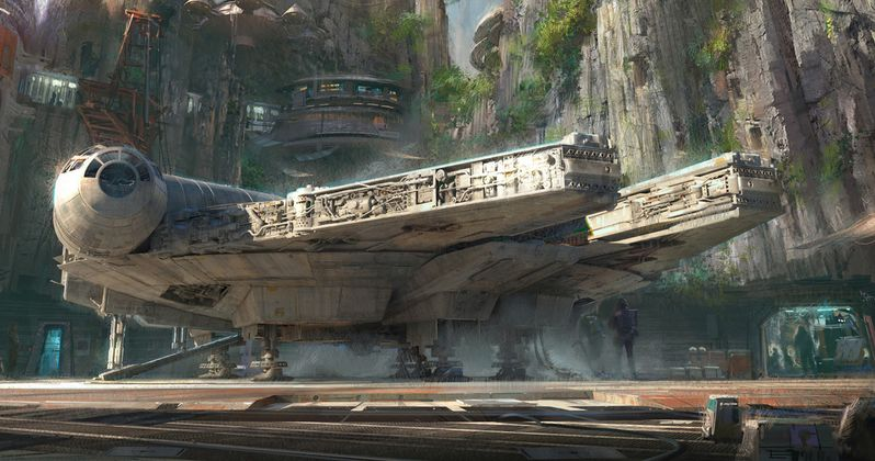 Millennium Falcon Ride Teased in Disney's Star Wars Land Special Promo