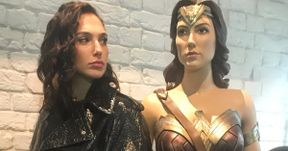 Gal Gadot Throws Shade at Wonder Woman Statue and It's Hilarious