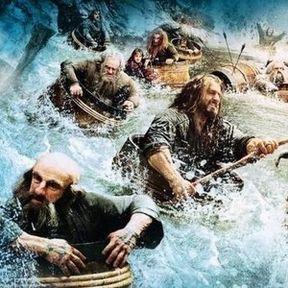 The Hobbit: The Desolation of Smaug Barrel Race Promo Art