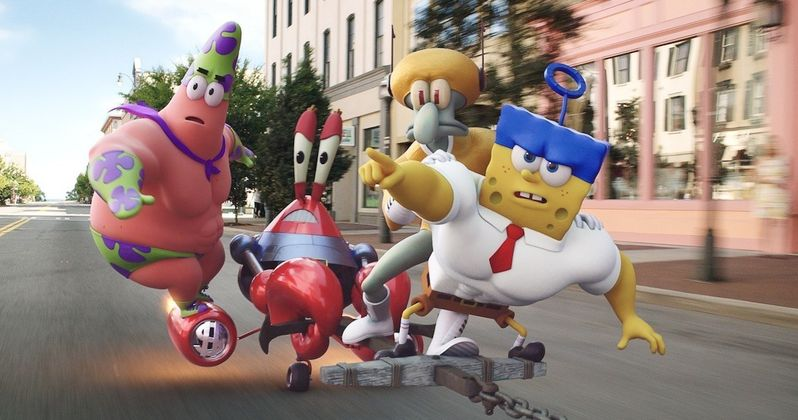 Over 30 Spongebob Movie Photos and N.E.R.D. Music Video