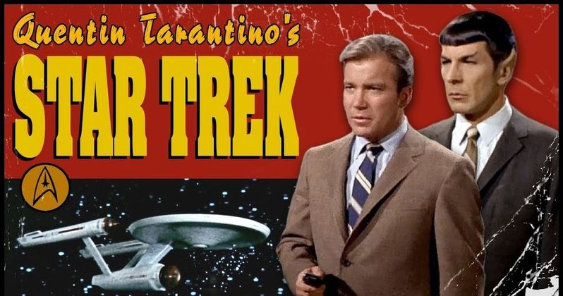 Tarantino's Star Trek Movie Gets a Grindhouse-Style Fake Trailer